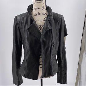 🆕🆙Elie Tahari Celine Genuine Leather Jacket